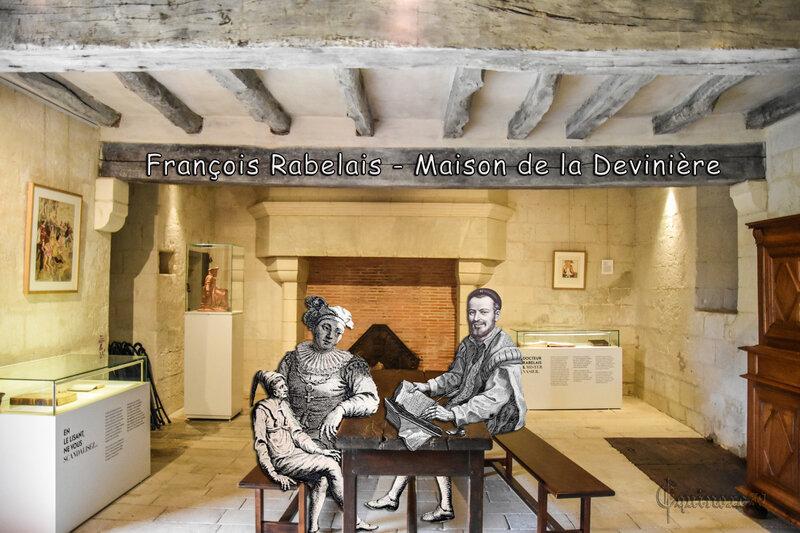 François Rabelais Maison de la Devinière