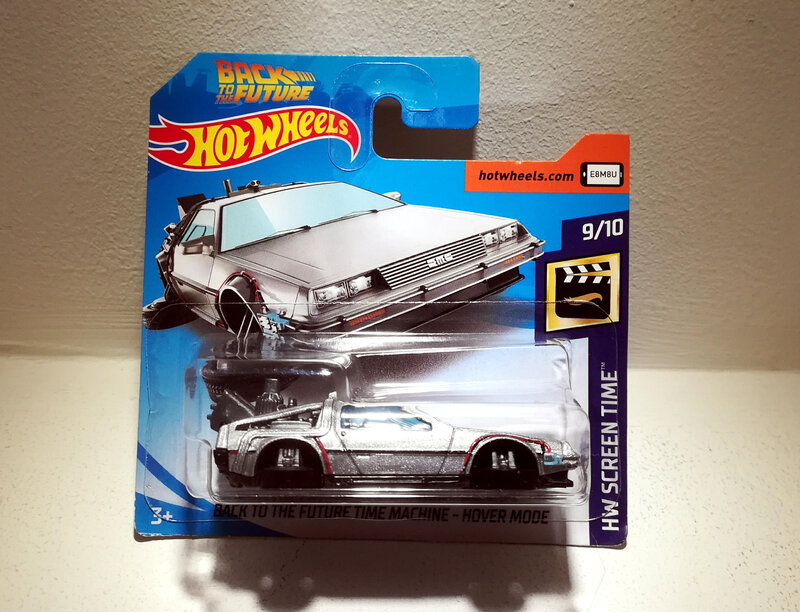 Back To the Future Time Machine Hover Mode (Hotwheels)