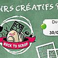 Back to scrap : un très grand merci ! et résultats du concours.