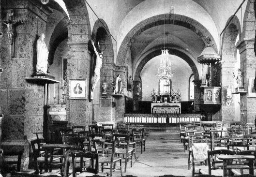 interieur de l' église