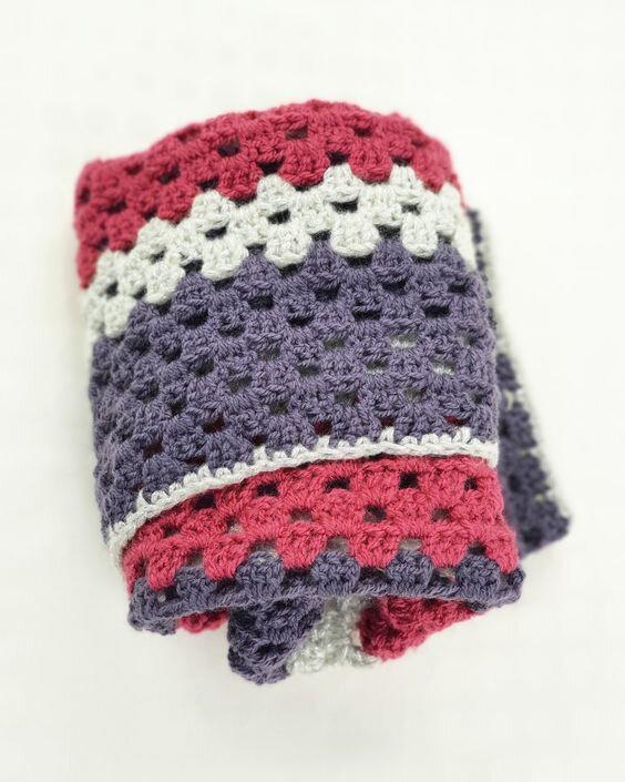 vanillejolie couverture crochet