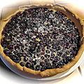 tarte aux bleuets des Vosges