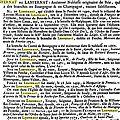 Lenfernat ou Lanfernat_Dictionnaire de la noblesse_p1