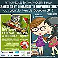 Salon du livre de dourdan (91) /samedi 18 et dimanche 19 novembre 2017