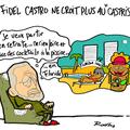 Fidel castro, retraite, cuba et flot de ride