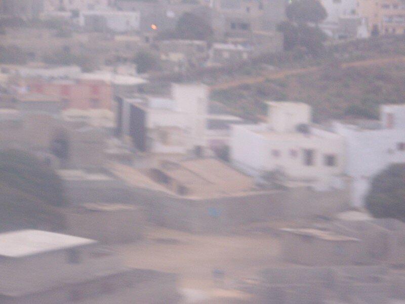 Au dessus de Dakar