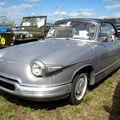 La panhard pl 17 cabriolet de 1963 (4ème fête autorétro étang d' ohnenheim)