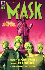 dark horse the mask I pledge allegiance to the mask 04