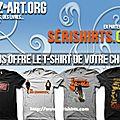 Concours serishirts : des t shirts cine a gagner