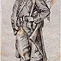 Tissot (James), Portrait de Sylvain Perier du 139e régiment (1870), souvenir du siège de Paris