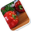 Salade poivrons-feta-persil