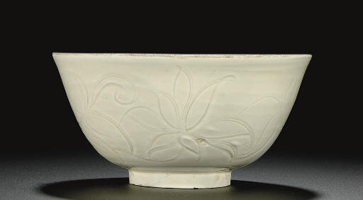 A Dingyao carved bowl, Northern Song dynasty, 11th-12th century