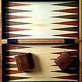 Backgammon de luxe en bois