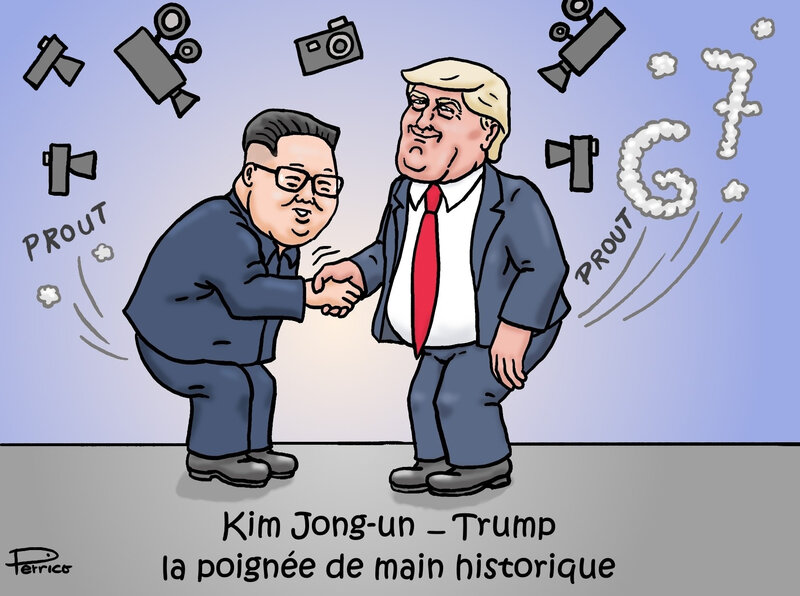 Trump et Kim Jong-un l'accord 13 juin 2018