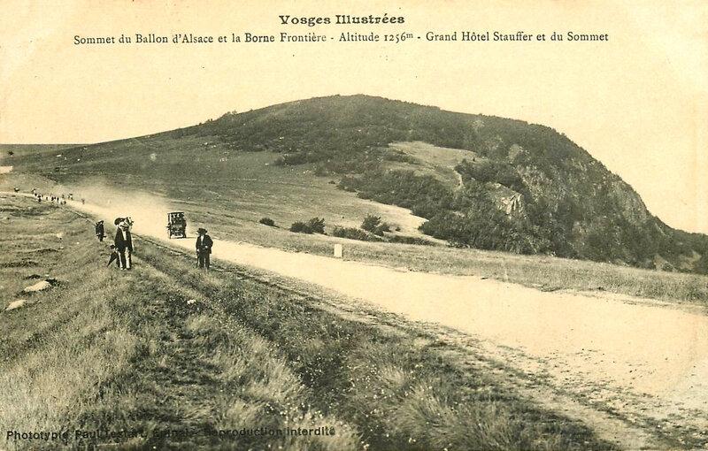 CPA Ballon d'Alsace Route