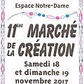 Marché de la création 2017
