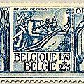 Deuxième série d'Orval, émise au profit du Fonds de reconstruction de l'abbaye Fondation de l'abbaye en 1131 1F75 + 2F75