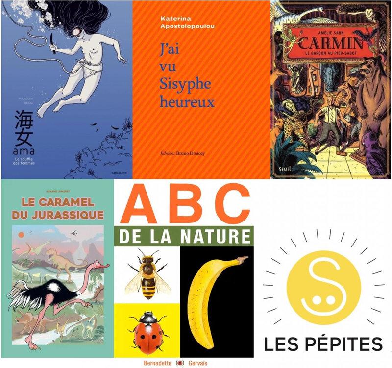 Lauréats des pépites du Salon de la littérature et de la presse jeunesse