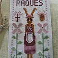 étiquette Pâques pour geneviève
