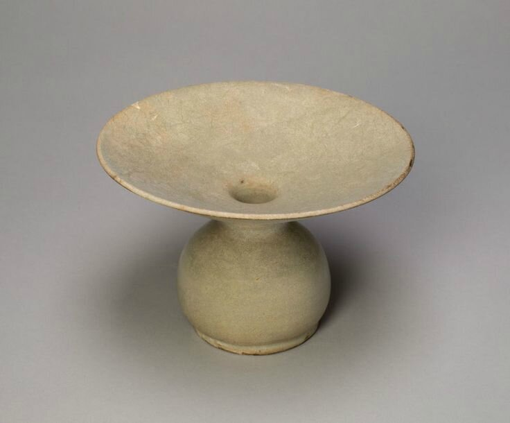 Spittoon (Zhadou), Tang dynasty (618–907), 9th century