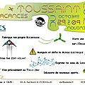 Programmation de l'espace jeunes - toussaint 2012