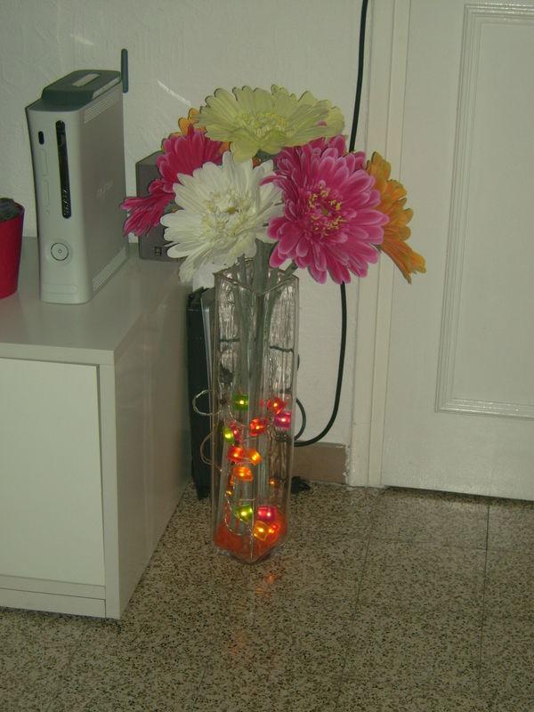 bouquet de fleur illuminé