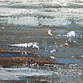 13 - Acrylique sur papier marouflé sur toile - 65 x 50 cm