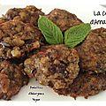 boulettes d'aubergines vegan- LA CUISINE DANNA PURPLE