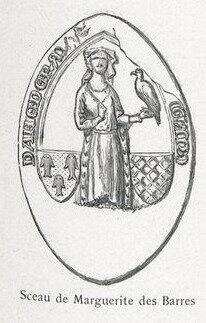 Sceau de Marguerite des Barres