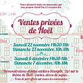 Les ventes privées blackrose !!! 22-23 novembre et 6-7 décembre !!