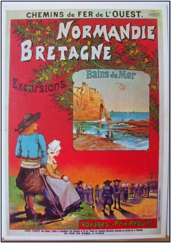 Chemins de fer de l'ouest Normandie Bretagne