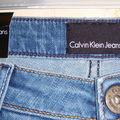Jean coupe cigarette calvin klein jeans
