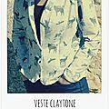 Veste claytone