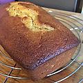 Gourmandises du dimanche-cake à la semoule et au citron