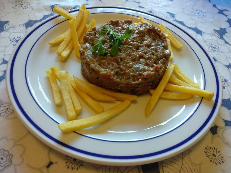 Steak tartare de luxe
