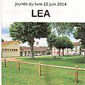 Lencouacq : journée du livre 2014 de lea (les enfants et les adultes)