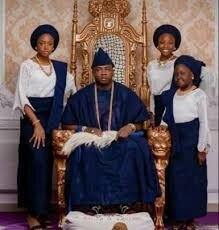 Oba Elegushi and first wife Queen Sekinat celebrate 16th wedding ...