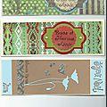 Les cartes de blandine et de sarah