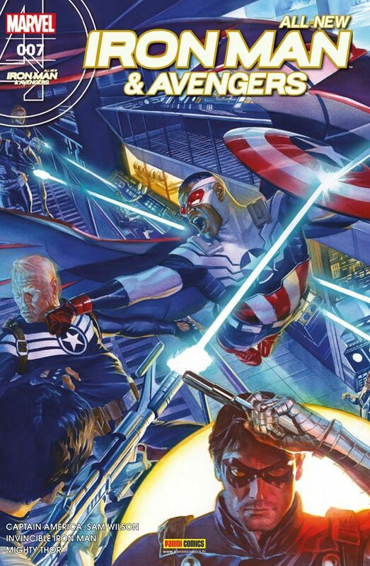all new iron man & avengers 07