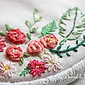 ▼▲ broderie florale ▼▲