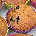 Faites de la musique et musique en fête à saint-rivoal: des muffins à la violette et aux bleuets à partager!