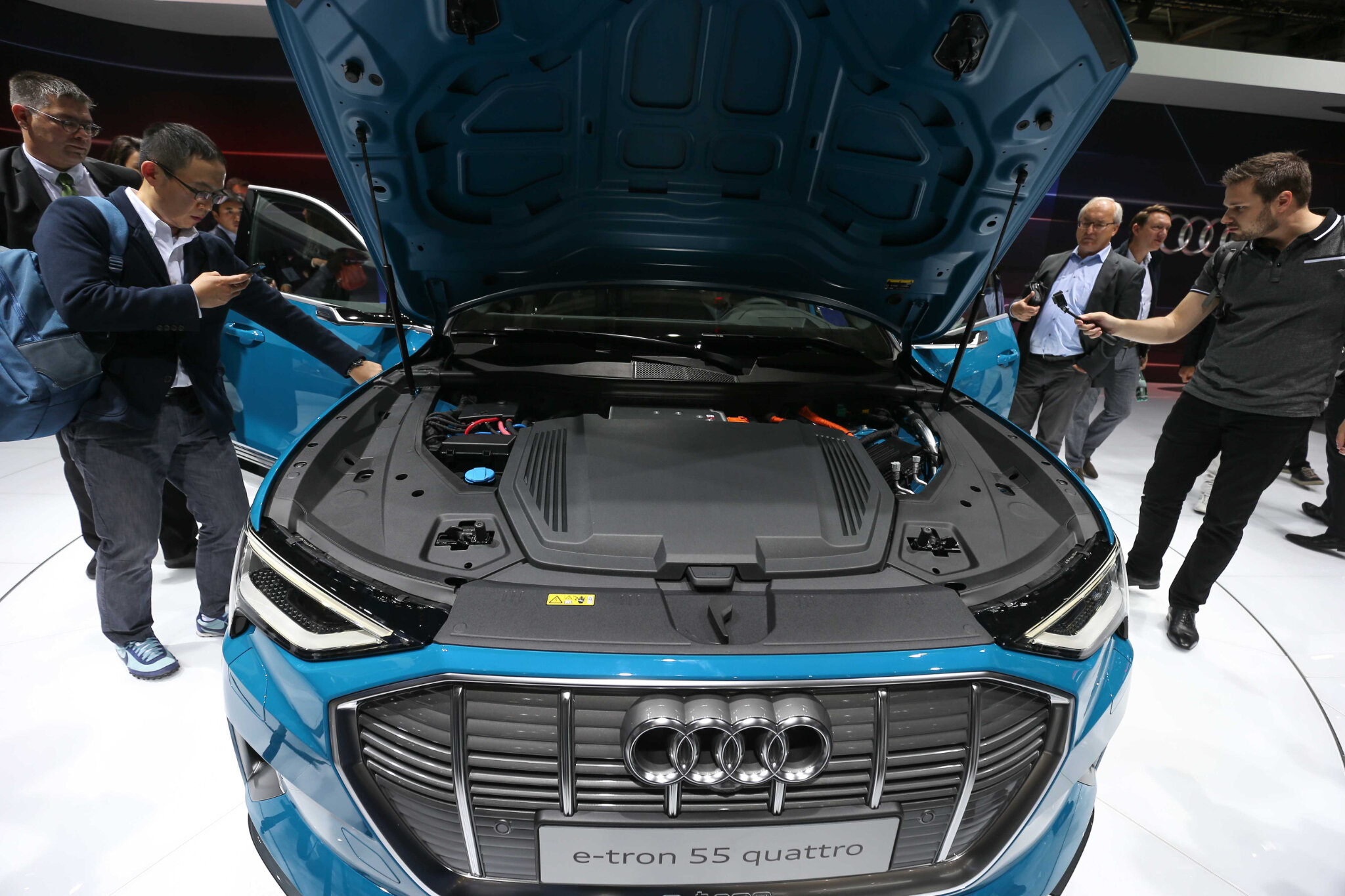 Ouverture du Mondial de l'Auto 2018 à la presse. © Michel Stoupak. Mar 02.10.2018, 12h01m38.
