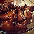 Pilon de poulet à la chinoise cuit à l'actifry