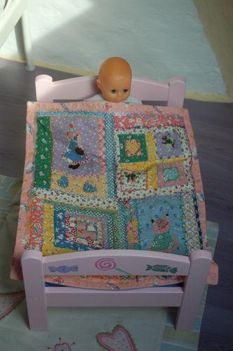 La couverture du bébé de Romane
