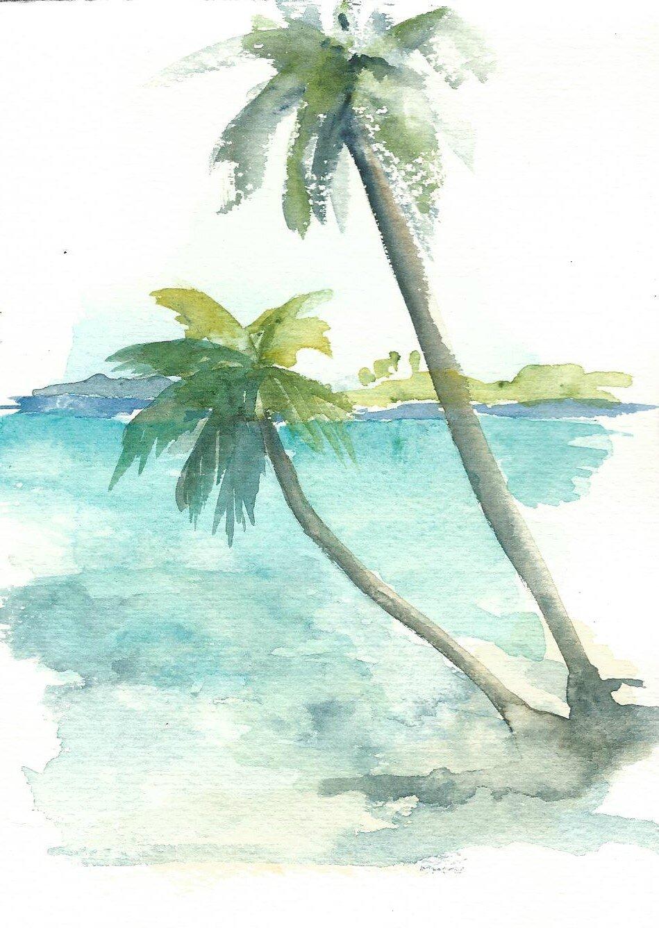 Polynesie, Raiatea, motu-2