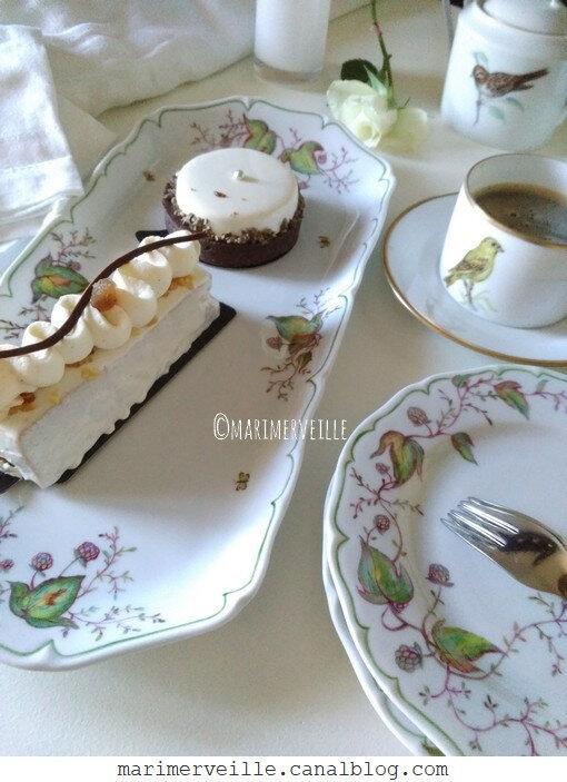 Café gourmand 1 - service houblons - service oiseaux ©marimerveille
