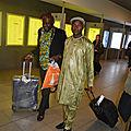 Arrivée de SM Joukwe Alexandre à Bruxelles, Avril 2018