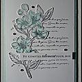 Cartes diverses 2020 - 3 - fleur de cerisier