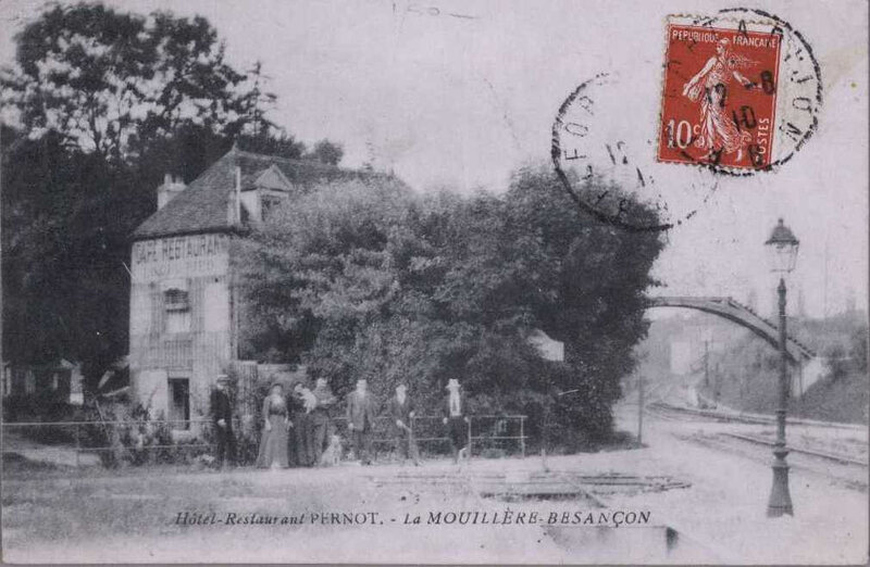 mouillère restaurant Pernod