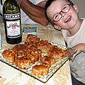Muffins au fromage de chèvres et tomates
